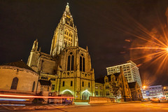 Pics from Pittsburgh #17 (tquist24) Tags: eastlibertypresbyterianchurch hdr nikon nikond5300 outdoor pennsylvania pittsburgh architecture church city geotagged light lightstream lighttrails lights longexposure outside starburst street urban eastliberty