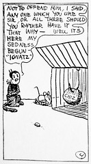 1920 Krazy Kat explaining Gender Fluidity Four 2747 (Brechtbug) Tags: 1920 krazy kat explaining why gender fluidity is factor sometimes he she comic strip newspaper news paper sunday funnies daily comics funny humor satire character syndicate artist george herriman cartoonist pen ink illustration art 2019 worm ignatz mouse mice cat cats