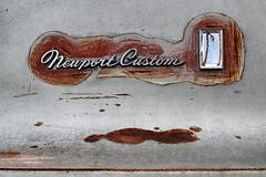 Chrysler Newport Custom (Doris Burfind) Tags: automobile car vehicle chrysler 70s rust decay