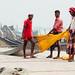 Bengali Men with Fishing Net, Chittagong Bangladesh