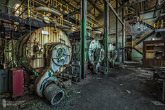 Tres Boilere (billmclaugh) Tags: hospital newyork abandoned demolish tuberculosis medicine powerhouse boiler brick wreck dome oculus highdynamicrange hdr industrial pipes rust shadows canon 5dmiii tse24mmf35lii adobe photoshop lightroom on1 perfecteffects