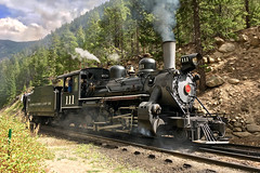 GLRX 111 Georgetown 21 Sep 19 (AK Ween) Tags: georgetownlooprailroad glrx glrx111 georgetown colorado baldwinlocomotiveworks 280 steamtrain steam narrowgauge