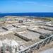 Ventotene (LT), 2019, Punta Eolo e l'area archeologica con Villa Giulia.