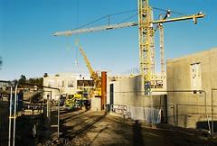 Albanobygget, Nu med väggar (Linzen004) Tags: stockholmsuniversitet albano bygge