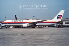 N642UA (timo.soyke) Tags: united unitedairlines n642ua fra eddf fraport frankfurt boeing b767 b767300 plane aircraft airplane flugzeug