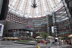 Sony Center (Ryan Hadley) Tags: berlin architecture potsdamerplatz sonycenter roof germany europe dome cityscape