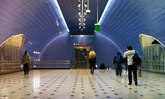 METRO L3 (jpi-linfatiko) Tags: nikon d7200 sigma1770 metro l3 station estacion people personas life urban urbano urbana vida ciudad city subway subte santiago chile