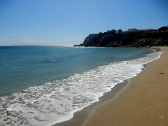 """I don't know where i'm going but i'm on my way..."" (fl_mala) Tags: greece traveltogreece greekislands parosisland paros ilovegreece discovergreece greatmoment wonderfulworld beautifulcolours beautifulsea deepblue bluesky sand waves"