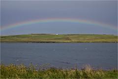 Rainbow over Graemsay (@WineAlchemy1) Tags: rainbow graemsay hoy moaness stromness orkney scotland stormy seascape landscape hanks lot