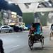 Nightime Bicycle Rickshaws, Chittagong Bangladesh
