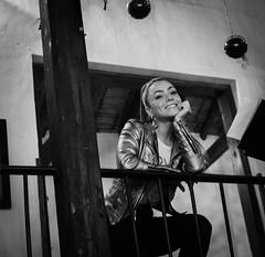 DSC_0093-3 (johnmoralesh) Tags: woman beautiful beauty belleza girl inside restaurant restaurante closeup nikon photography photoshoot blancoynegro blackandwhite background