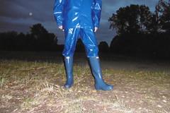 Shiny evening (lulax40) Tags: rubber rubberboots rainwear regenkleidung rubberist rubberfetish rubberslave rubberman rubbergear gummistiefel gummi gummikleidung gummisklave gummiregenkleidung pvc public abeko latexfetisch farmerrain fetishist hunter humiliation