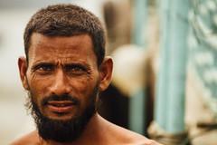 Fisherman Portrait, Chittagong Bangladesh (AdamCohn) Tags: adam cohn bangladesh chittagong karnaphuliriver muslim beard man portrait streetphotographer streetphotography wwwadamcohncom কর্ণফুলি adamcohn