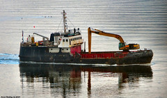Scotland Greenock a 51 year old dredger called Shearwater 25 September 2019 by Anne MacKay (Anne MacKay images of interest & wonder) Tags: scotland greenock 51 year old dredger shearwater ship 25 september 2019 picture by anne mackay