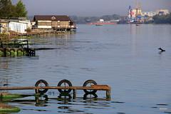 Morning Ранок (bezkaski1) Tags: morning city september river dnieper bridge quiet port autumn ukraine утро ранок днепр дніпро мост река ua ёёёёё