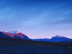 Livamcohkka 2 (dration) Tags: sweden lapland kungsleden sunset evening mountain sky landscape