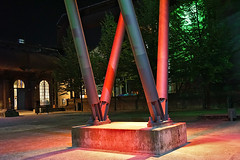 """Landschaftspark Duisburg-Nord (hermann.kl) Tags: lapadu """"landschaftspark duisburgnord"""" farbe color hüttenwerk steelworks duisburg duisburgmeiderich deutschland nrw hochofen """"blast furnace"""""""