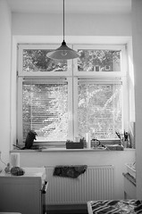 Hamburg apartment (Jim Davies) Tags: film canon germany outdoors photography holidays apartment zoom interior hamburg epoca hanseatic bridgecamera airbnb camera summer monochrome analog 35mm picasa august analogue 400asa 2018 chromogenic veebotique c41 xp2 ilford