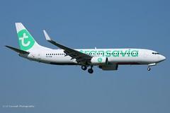 PH-HSW_B738WL_Transavia_- (LV Aircraft Photography) Tags: ams 20042019 transavia boeing b738 phhsw 37160 2009