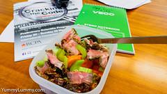 Sous vide rib steak carrot celery dates (garydlum) Tags: beef carrot celery dates sousvide steak canberra australiancapitalterritory australia