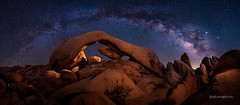 Arch Rock, Joshua Tree National Park, CA (Phong Trinh) Tags: nationalparks joshuatreenationalpark jumborock nightphotography milkyway nightscape astrophotography starrynight stars cosmos nightsky galaxy galacticcenter wideangle longexposure joshuatree