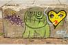 NDSM Plein - Amsterdam (Netherlands) (Meteorry) Tags: europe nederland netherlands holland paysbas noordholland amsterdam noord nord north street art artderue graffiti pressone ndsmplein ijhallen beton concrete green vert heart tags august 2019 meteorry