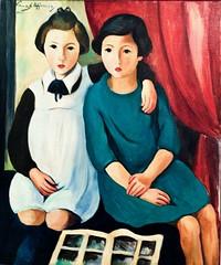 Girls (1928) - Sarah Affonso (1899-1983) (pedrosimoes7) Tags: sarahaffonso girls meninas museunacionaldeartecontemporânea mnac museudochiado lisbon portugal artgalleryandmuseums