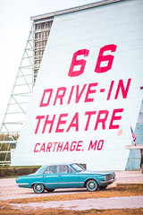 American Like Plymouth (Thomas Hawk) Tags: america plymouth missouri carthage 66drivein 66driveintheatre auto usa car route66 automobile theater unitedstates unitedstatesofamerica driveintheater fav50 fav10 fav25 fav100