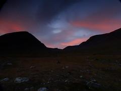 evening colors over Tjaktja (dration) Tags: sweden lapland kungsleden sunset evening mountain sky landscape