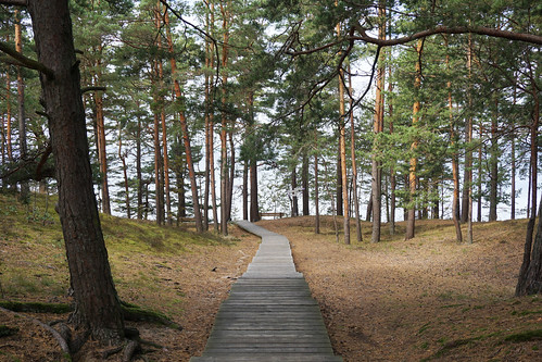 Walking the Latvian coast