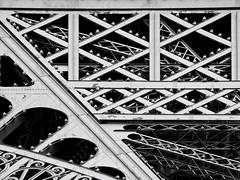 Once upon a time in Paris (2) (SilViolence) Tags: nikon coolpix p7000 latergram snapseed architecture urban urbano urbex detail particolare europe europa minimal minimale minimalism minimalismo lofi abstract abstrakt astratto abstraction astrattismo dettaglio architettura contemporary archilovers coolpixp7000 2015 paris parigi france francia metal metallo toureiffel eiffeltower eiffel bw blackandwhite biancoenero