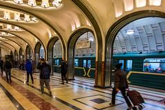 Moscow underground (thomascabrelli) Tags: moscow subway nikon mouv