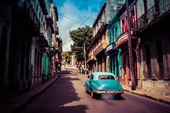 Streets of Havana - Cuba (IV2K) Tags: havana habana lahabana cuba cuban kuba cubano caribbean habanavieja centrohavana sonyrx1 rx1 sony neptuno street
