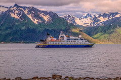 National Geographic Ship (http://fineartamerica.com/profiles/robert-bales.ht) Tags: alaska ferrycruiseships forupload haybales marine people photo places scenic transportation vacation trip blue travel landscape cruise mountain sky holiday tourism ship sea beauty summer fjord beautiful picturesque tourist majestic vessel liner cruiseship maritime cruiseliners anchorage water adventure woods nature outdoor hill wild ocean train seward highway usa america national nationalpark polar robertbales resurrectionbay nationalgeographicship