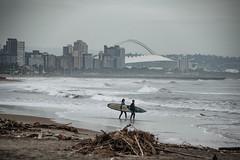 Durban (Esther Blaauwwiekel) Tags: durban southafrica zuidafrika ushaka durbanbeach northbeach streetkids sunrise