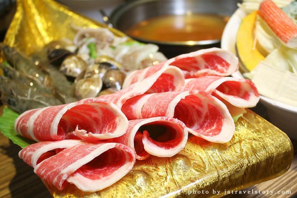 新開幕竹棧涮涮鍋 打卡送肉,肉質佳,麻辣鍋香而不嗆辣【基隆美食】 @J&A的旅行