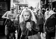 Princes Street, Edinburgh (Cycling-Road-Hog) Tags: candid canoneos750d citylife edinburgh edinburghstreetphotography fashion hairstyle headphones phone places princesstreet scotland street streetphotography streetportrait style urban