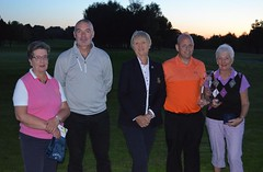 Margaret Lapsley Trophy Mixed Foursomes Winners