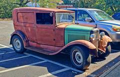 31 Ford Panel (creepingvinesimages) Tags: htt trucks panelvan 1931 ford custom outdoors charlottesville virginia samsung s pse14 topaz