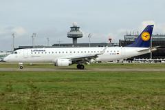 D-AECD (PlanePixNase) Tags: aircraft airport planespotting haj eddv hannover langenhagen lufthansa regional embraer 190 e190