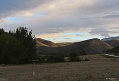 Curvas sinuosas (kirru11) Tags: montes atardecer campo carretera coche árboles cielo yanguas kirru11 anaechebarria canonpowershot