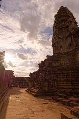 Sunstar and clouds (unsharptooth) Tags: sunstar sunset angkorwat angkorarchaeologicalpark siemreap cambodia ancientruins goldenhour cloudy landscape landscapephotography naturallight ngc happyplanet asiafavorites