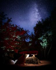 Dolmen de Axeitos (Noel Feans) Tags: axeitos riveira barbanza ribeira corrubedo bretal megalitismo mamoa arca fornelo galiza galicia milky way via lactea dolmen