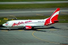 AIR ASIA B737 PK-AWP (Adrian.Kissane) Tags: 737 boeing airline airliner jet plane aircraft aeroplane ramp aviation taxing airport outdoors 24905 20122008 b737 pkawp changi singapore airasia