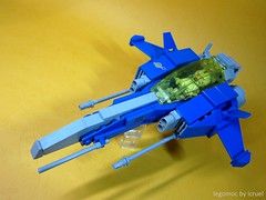 ICC Sargasso Blue SFSBver-2.0 (icycruel) Tags: lego moc starfighter neo classic scifi military spaceship