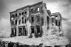 Haunted [IR] (Sean Hartwell Photography) Tags: tyronehouse tyrone house manor abandoned ruins ruin infrared ir haunted spooky decay