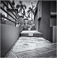 Fotografía Estenopeica (Pinhole Photography) (Black and White Fine Art) Tags: fotografiaestenopeica pinholephotography lenslesscamera camarasinlente lenslessphotography fotografiasinlente pinhole estenopo estenopeica stenopika sténopé stenopeika fomapanclassic100 kodakd76 sanjuan oldsanjuan viejosanjuan puertorico bn bw niksilverefexpro2 lightroom3