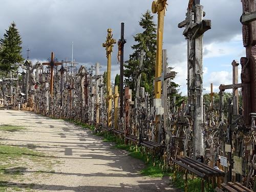 Berg der Kreuze in Šiauliai