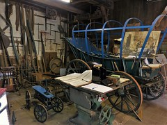 Wheelwrights Workshop / Wagenmakerij op landgoed Twickel (joeke pieters) Tags: 1490027 panasonicdmcfz150 twickel delden overijssel nederland netherlands holland wagenmakerij wheelwrightsworkshop stellmacherei wagnerei interieur interior nostalgie nostalgic