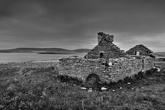 Holiday let (images@twiston) Tags: holidaylet forgotten abandoned ruin derelict croft farm building farmhouse eynhallow sound rousay mainland orkney scotland island sky dark brooding moody cloud clouds landscape imagestwiston farnorth highlands islands northernisles bw mono blackandwhite monochrome nisi nisifilters gnd neutraldensity grad